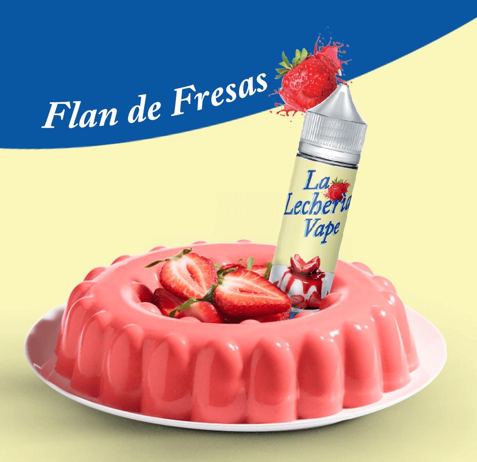 LECHERIA VAPE – FLAN DE FRESAS – 50ml