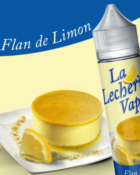 LECHERIA VAPE – FLAN DE LIMON