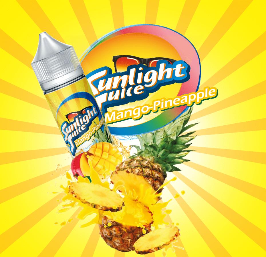 SUNLIGHT JUICE –MANGO PINEAPPLE – 50ml