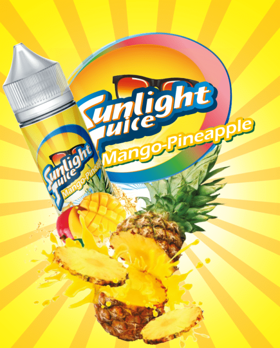 SUNLIGHT JUICE –MANGO PINEAPPLE – 50ml