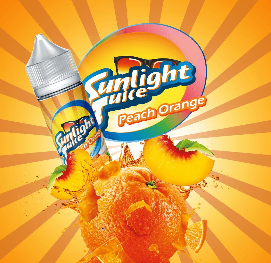 SUNLIGHT JUICE –ORANGE PEACH – 50ml